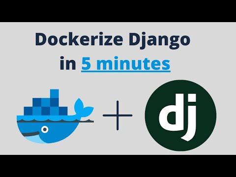 How to Dockerize Django in 5 minutes thumbnail