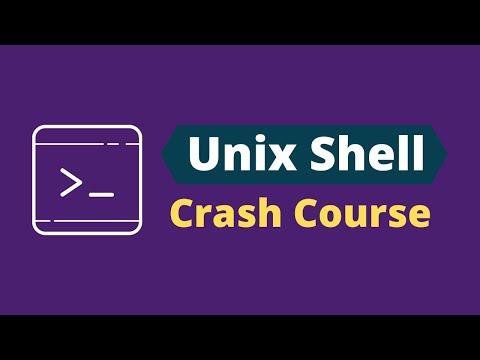 Unix Shell Crash Course || Unix Shell Tutorial for Beginners - YouTube