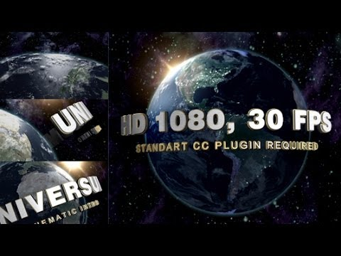 My After Effects Template Universal Like Cinematic Logo