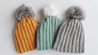 Crochet Beginner Winter Hat