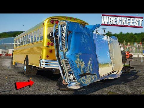 BEAMNG CARS IN WRECKFEST - Wreckfest Game