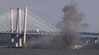 Tappan Zee Bridge explosive demolition