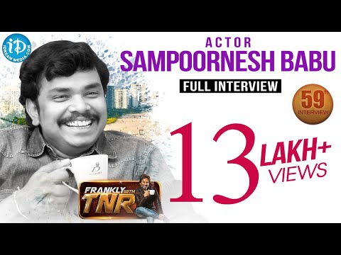 Sampoornesh Babu Exclusive Interview  || Frankly With TNR #59 || Talking Movies With iDream #317