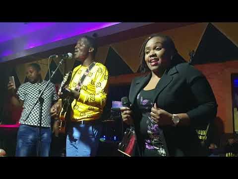 Jose Gatutura and Kareh B@ Country Muthiga Inn