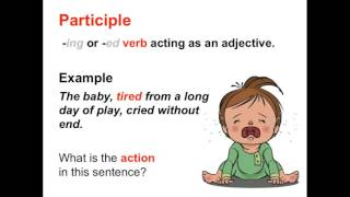 Verbals: Gerunds, Infinitives, and Participles | Parts of Speech App