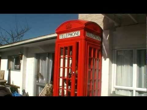 Download How we made our red English telephone booth Mp4 HD Video and MP3