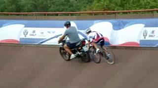 Тренировка на велотреке