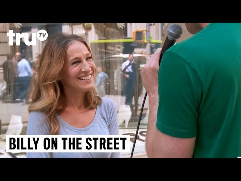 Billy on the Street - Reindeer or Sex App with Sarah Jessica Parker