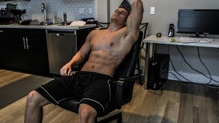 Ultimate OFFICE CHAIR Ab Workout | No Excuses by Brendan Meyers