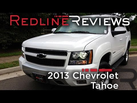 2013 Chevrolet Tahoe Review, Walkaround, Exhaust, & Test Drive