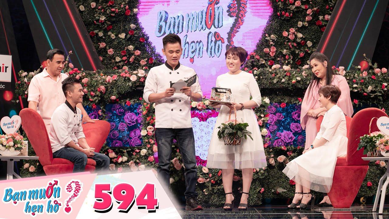 Bạn Muốn Hẹn Hò | Tập 594: Gái ế Hà Tĩnh thả thính đỉnh cao đốn gục anh đầu bếp mê chơi chim