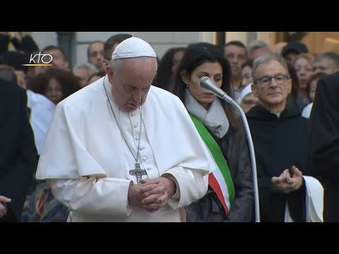 Prière à la Vierge Marie avec le Pape François