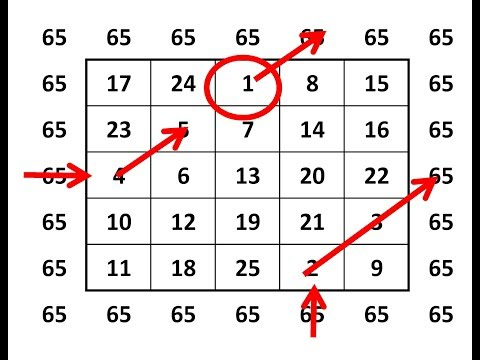 Magic Square 5x5 Tutorial - смотреть онлайн на Hah Life