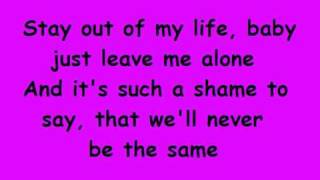 Danny Fernandes - Never Again - With Lyrics