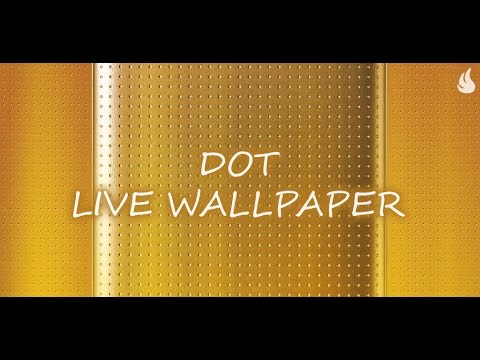 Video of Light Dot Live Wallpaper