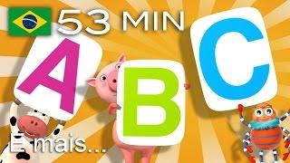 Canção Do ABC | E Muitas Mais Canções De Ninar | Compilação Com 53 Minutos Da LittleBabyBum!