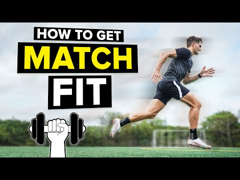 How to get in football shape | Improve football fitness