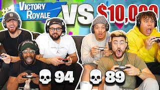 First To Get 100 KILLS In Fortnite Wins $10,000!! (Fortnite Battle Royale w/ Team ALBOE)
