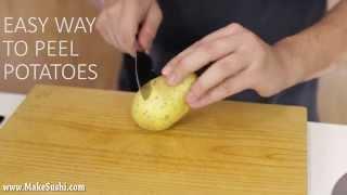 Die besten 100 Videos So schält man Kartoffeln - Amazing Potato Peeling Trick