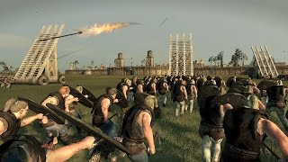 3000 Vikings vs 3000 Frank Crossbows Siege of Paris Attila Total War
