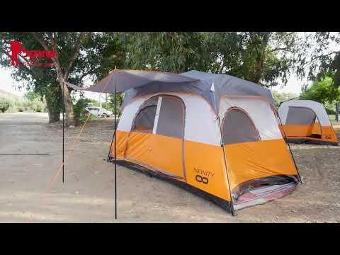 אוהל 8 אנשים everglades