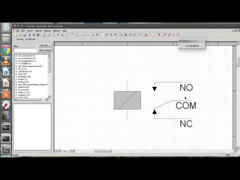 Create new library and schematic symbols in TinyCAD