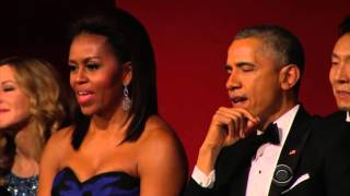 Aretha Franklin Brings President Obama To Tears Performing At Kennedy Center Honors