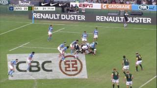 Rugby Championship 2016 Rd 2: Argentina v South Africa