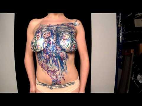 Lara Lockwood Baubel Bubble Bristol Glitter Tattoo