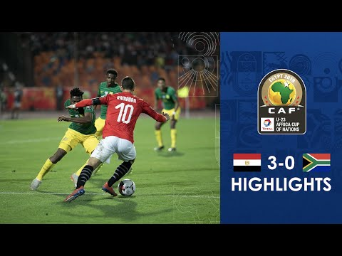 HIGHLIGHTS | #TotalAFCONU23 | Semi-Final: Egypt 3-0 South Africa