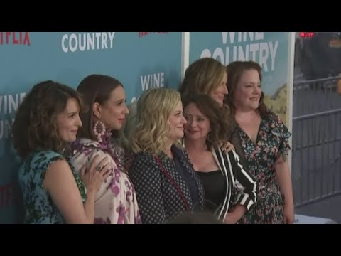 "Comedian Amy Poehler says she had to manage her 'SNL' friends when directing new comedy ""Wine Country."" (May 9)"