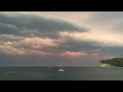 Storm clouds in Turkey. Timelapse. Грозовые облака в Турции. Таймлапс.