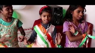 26 January Republic Day 2019 Celebrations Anganwadi Kendra Narsinghpur Gorakhpur UP INDIA/ICDS