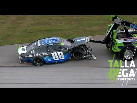 Bowman reacts to Talladega wreck: 'That's on me' | NASCAR at Talladega
