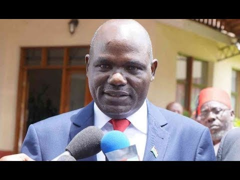 Wafula Chebukati says all 8 presidential candidates will be on the ballot