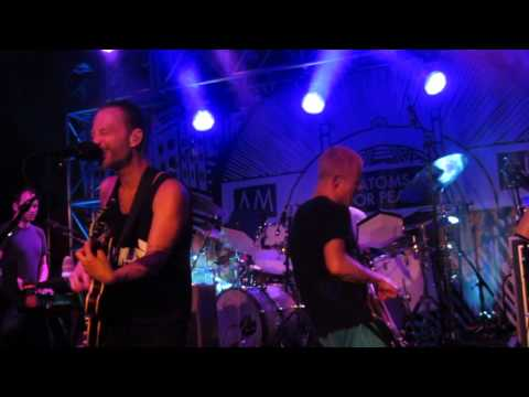 Atoms For Peace - Stuck Together Pieces ( front row ) - Live @ Club Amok 6-14-13 in HD