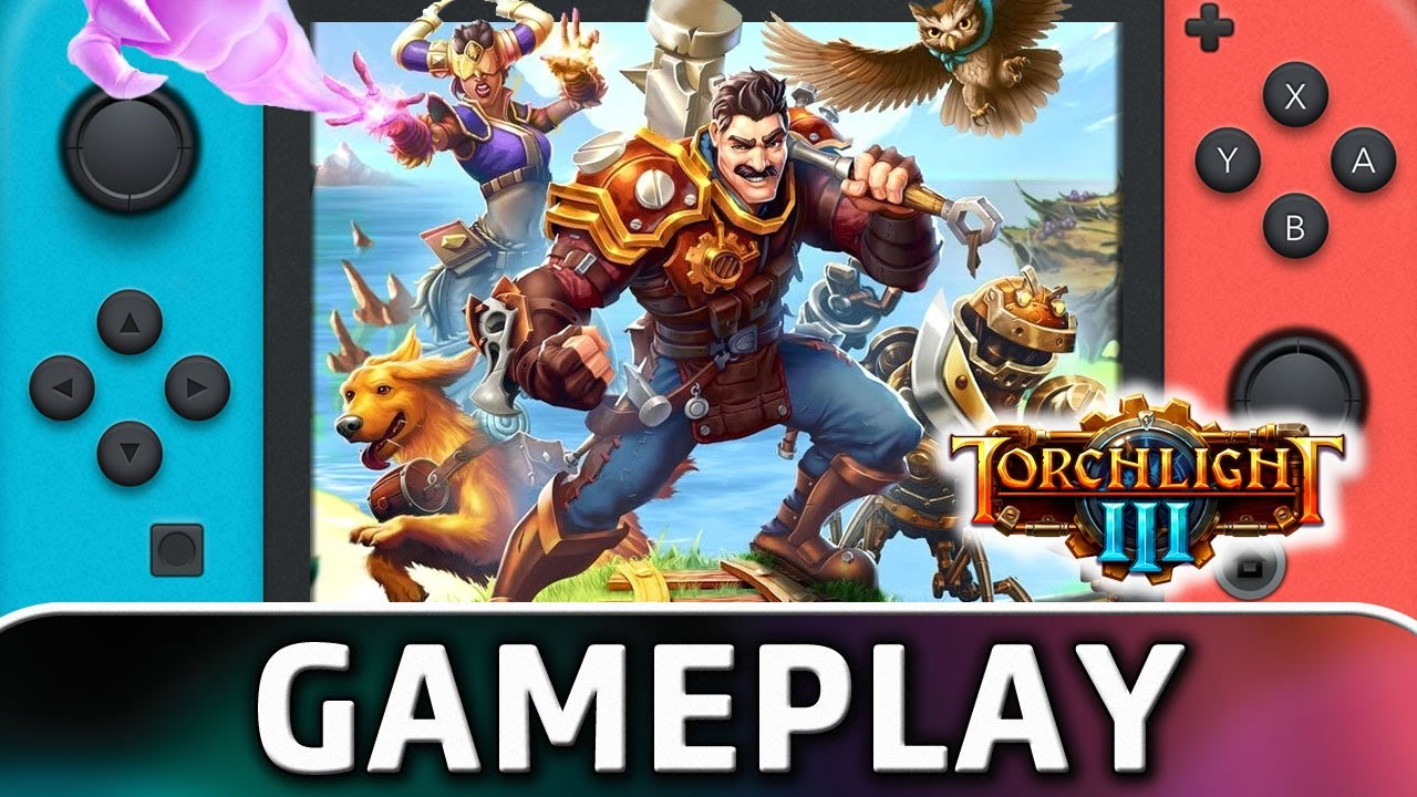 Torchlight III | Nintendo Switch Gameplay