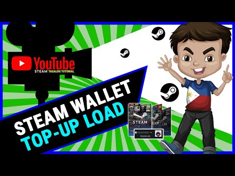 Steam Wallet Code Top-up Tutorial (Tagalog)