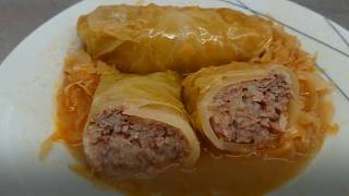 Sarma Recipe | Cabbage Rolls With Sauerkraut | Croatian Cooking
