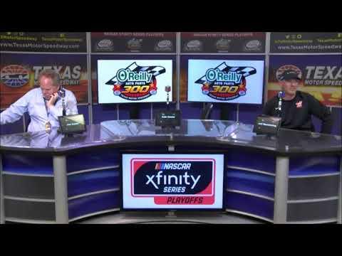 2018 NASCAR Texas Xfinity post-race Q&A