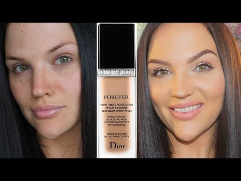 Dior Forever Perfect Foundation Review + Demo