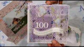 Grandmother's 100th Birthday Challenge: Thank You, Virginia! Plus My Card! :)
