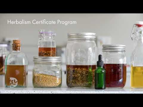 Herbalism Certificate Program at Denver Botanic Gardens - YouTube