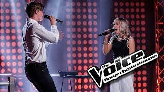 Ingeborg Walther Vs. Elias Grimstad Salbu   Like I'm Gonna Lose You | The Voice Norge 2017 | Duell