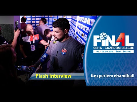 Final 4, 2019 | Flash interview: Vardar vs Meshkov Brest
