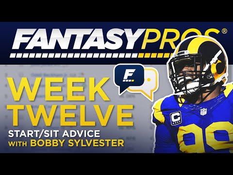 Live: Week 12 Start/Sit (2019 Fantasy Football)