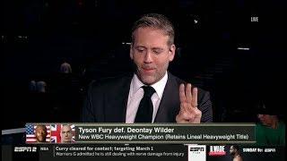 [BREAKING] Max Kellerman reacts: Tyson Fury 2 def. Deontay Wilder; captures WBC Heavyweight Title
