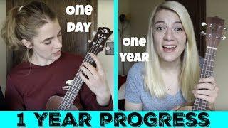 My Ukulele Progress After 1 Year!