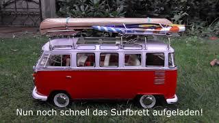 Tamiya VW Bus M06 rot