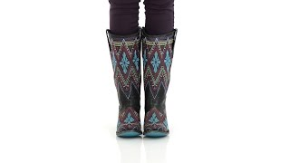 Lane Boots Womens Leather Sunshine Multicolor Stitch Cowgirl - Style# LB0177B